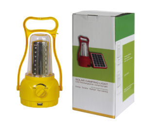 Factory Manufacture Wholesale Solar Power Camping Lantern pictures & photos