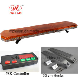 New Design Safety Vehicles Clear Lens Ultrathin LED Lightbar Ambulance Fire Engine Traffic Police Car to Open up The Road pictures & photos