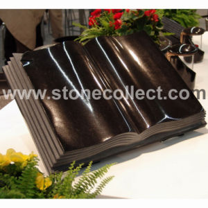 Book Style Headstone (Shanxi Black) pictures & photos