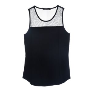 Lady Fashion Clothing Underwear Knit Sleeveless Modal Vest Tank Tops pictures & photos