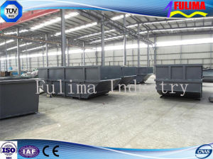 High Quality Steel Skip Bin for Waste Transfer Station (dB-003) pictures & photos