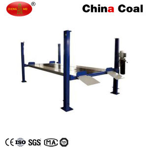 Fpp-2 Type Hydraulic Vehicle Parking 4 Post Car Lift pictures & photos
