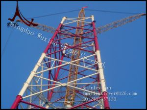 Hot-DIP Galvanized Angle Steel and Tubular Combined Tower pictures & photos