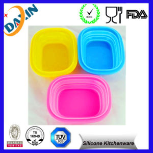 Promotional FDA Collapisble Silicone Bowl pictures & photos