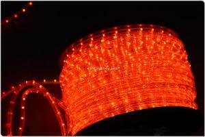 Orange Rope Light LED for Decoration