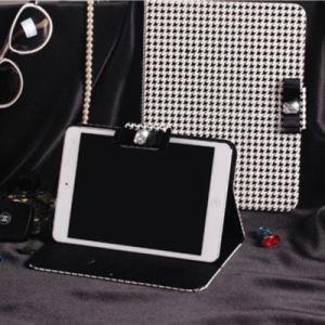 Korean Style Swallow Gird PU Leather Case iPad Mini Cover