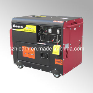 4kw Air-Cooled Silent Diesel Generator Set (DG5500SE) pictures & photos