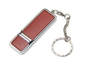 Exclusive Leather USB Flash Disk with Keychain, Hot Sales pictures & photos