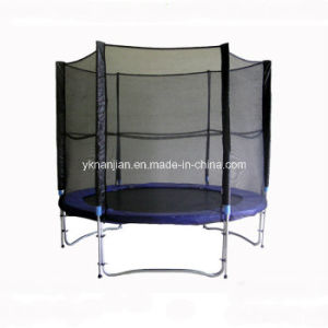 Best Play Outdoor Fitness Large Trampoline for Sale pictures & photos
