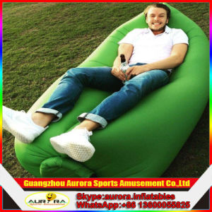 Lovely and Convenient Inflatable Bean Bag for Outdoor Camping