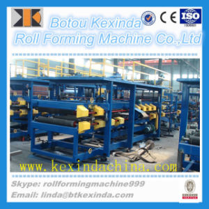 EPS and Rock Wool Sandwich Panel Roll Forming Machine Manufacturer pictures & photos