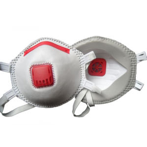 Ffp3 Particulate Respirator with Cool Flow Valve Manufacturer pictures & photos