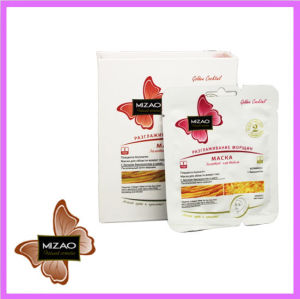 Placenta Collagen Eye Mask with Biogold and Silk Proteins pictures & photos