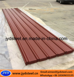 Color Coated Galvanized Steel Roof Sheet with Trapezoid Type pictures & photos