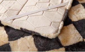 Genuine Australian Sheepskin Bed Blanket pictures & photos