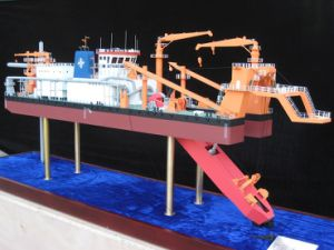 Miniature Ship Model of Dredge Boat (JW-141) pictures & photos