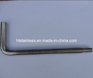 Stainless Steel L Anchor Bolt pictures & photos