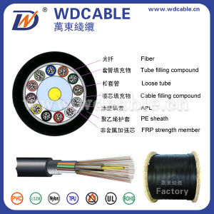 High Quality Fiber Optical Cable Outdoor Optical Fiber Cable Gyfta