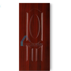 HDF/MDF Mould Door Skin with Melamine Paper pictures & photos