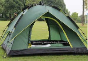 Double Layer Waterproof Automatic Camping Tent pictures & photos