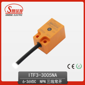 Inductive Proximity Switch 6-36VDC Three-Wires DC NPN Normally Open Sensor with 5mm Detection Distance pictures & photos