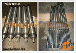 Screw Barrel for Injection Molding Machine Screw Barrel pictures & photos
