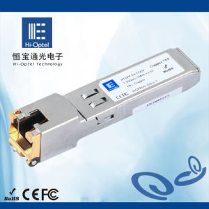 23. Copper Transciver SFP Optical Module 100m RJ45 1000Mbps pictures & photos