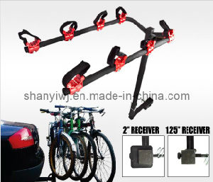 New 4 Bicycle Bike Rack Hitch Mount Carrier, Car Truck Bike Carrier (TA210)
