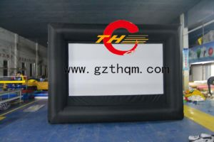 Hot Sale Indoor or Outdoor Commercial Movie Projector Screen pictures & photos