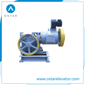 Small Loading AC2 Geared Elevator Traction Machine (OS111-YJF120WL) pictures & photos