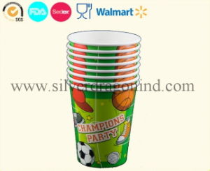 Eco-Friendly Disposable Tableware for Party, Kids Birthday Paper Cups pictures & photos