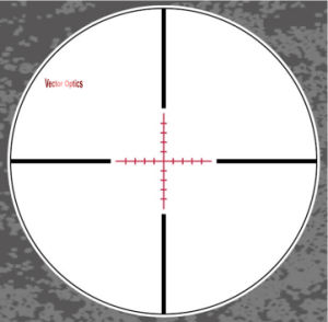 Paragon 1.2-6X24 German Lens Rifle Scope High Quality Telescopic Sight pictures & photos