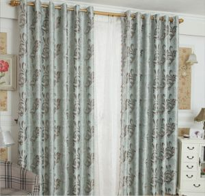 Double-Faced Jacquard Fabric Curtain Blackout Curtains (MM-122) pictures & photos
