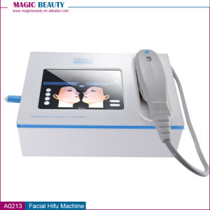 Portable Mini Face Lift Anti-Aging Wrinkle Removal Hifu Machine for Sale pictures & photos
