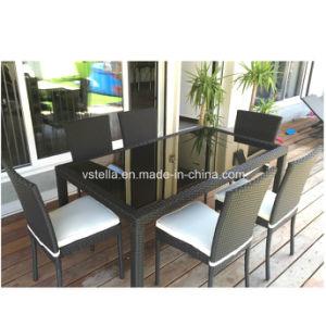 Outdoor Patio Garden UV Weather Resistant Wicker Rattan Dinng Chair pictures & photos