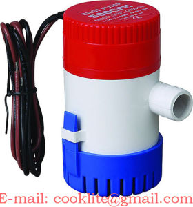 Electric Bilge Pump / DC Submersible Pump / DC Drainage Pump 24V 500gph pictures & photos