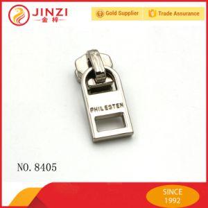 Elegant Sliver Metal Zipper Pullers for Handbag Zinc Alloy Zippers Pull