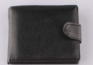 2017 Solid Men Leather Wallet pictures & photos