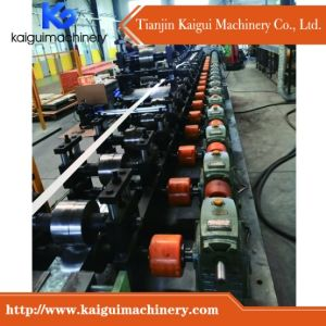 Ceiling T Bar Forming Machine with Center Black Line Groove pictures & photos
