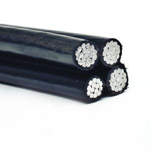 Overhead Aluminum Aerial Bundle Cable, Duplex/Triplex Service Drop Cable, Aluminum Cable pictures & photos