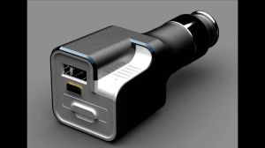 Newly Designed High Quality USB Car Charger with Built-in Fragrance pictures & photos