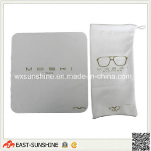 Silk Screen Printed Eyeglass Cleaning Cloth pictures & photos