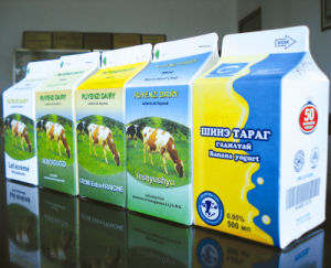 500ml 3 Layer Pasteurized Milk Gable Top Carton pictures & photos