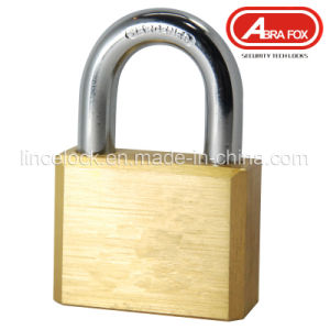 Square Type Brass Padlock with Vane Keys (105) pictures & photos