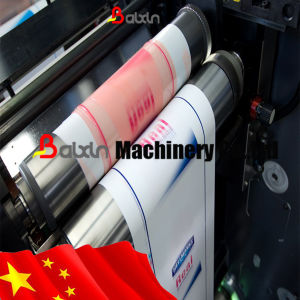 Stick Paper Printing Machine for Adhesive Label pictures & photos