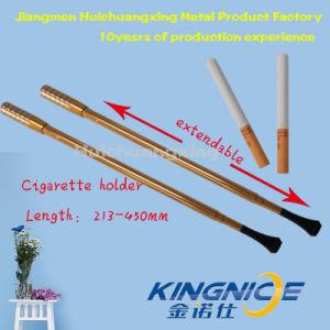 Long Telescopic Cigarette Holder Party Partner Golden 45cm pictures & photos