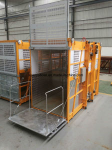 Factory Supplier Ce Approved Construction Elevator, Construction Hoist for Sale pictures & photos