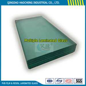 Thick 6.38mm Clear Flat Laminated Glass with PVB Sheets pictures & photos