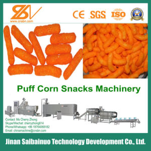 Corn Pops/ Cheese Snacks/ Cheese Ball/ Corn Scnaks Making Machine pictures & photos