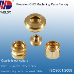 High Precision OEM Aluminum CNC Lathe Turning Machinery Parts pictures & photos